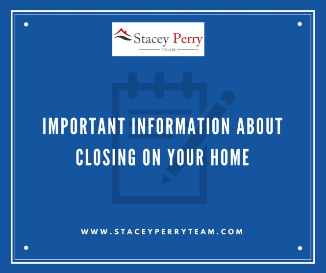 Important Information About Closing On Your Home